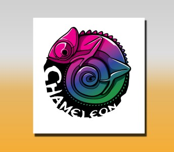 Логотип Хамелеон